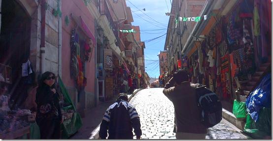 La Calle de las Brujas, La Paz, Bolivia