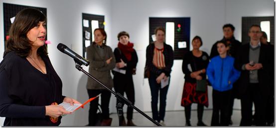 Liane Rossler opening Joyaviva in Sydney